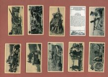 Collectable Tobacco cigarette cards set Modern Warfare 1936 by   B.A.T
